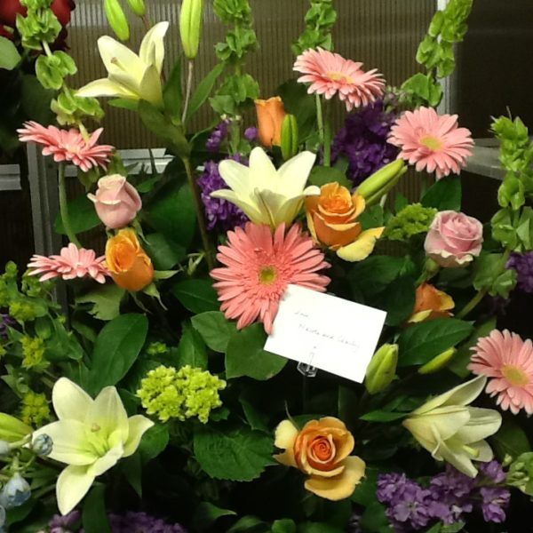 Creative flowers by amodios 3999 select options sympathy basket mightylinksfo
